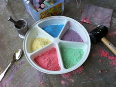 Play Create Explore: Crushed Chalk Potions
