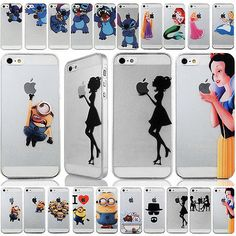 Cute Cartoon PC pattern hard back Case Cover Skin For iPhone 4 4S 5S 6 6 plus