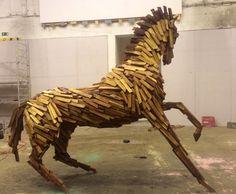 Royal horse project by Gabor Miklos Szoke