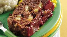 String cheese is the secret ingredient in this flavorful meatloaf thats ready to bake in 10 short minutes.