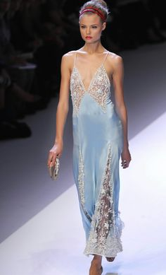 Magdalena Frackowiak, Christian Dior  Haute Couture - La Trahison des Images