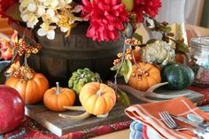 15 Festive Decorations for your Fall Tablescape - How To Build It
