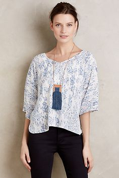 Lovelia Blouse #anthropologie