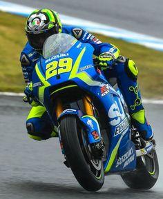 Andrea Iannone # 29 Suzuki, GP Motegi