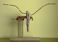 """Saatchi Online Artist: Oriol Cabrero; Found Objects Sculpture """"goat"""""""
