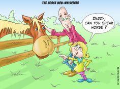 The horse non-whisperer