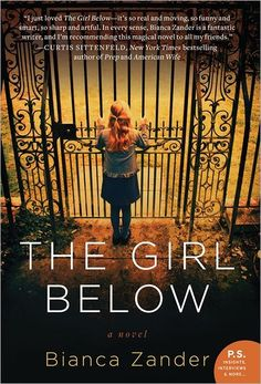 The Girl Below by Bianca Zander#awordwithJoJo #books