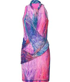 Very colour and beautiful drape dress! Jersey Dress #fashiondress #women #JerseyDress #Jersey #Dresses #anoukblokker