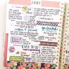 This week in the Bando. I use it as my journal to document more in depth about our week Check out the second half in the next post!