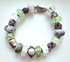 March bracelet!  Wow- a beauty from a collector on Trollbeads Gallery Forum!  Join us! http://trollbeadsgalleryforum.ning.com/
