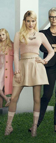 Emma Roberts as Chanel Oberlin.