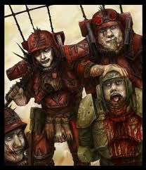 Traitor Legions of guardsmen turn on their Loyalist brothers in an orgy of blood and betrayal.