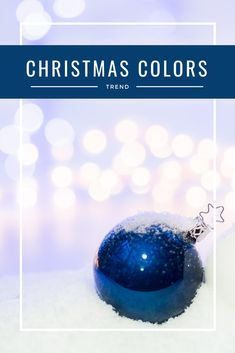 The most common Christmas Color trends and the new trends of 2018 in one place. The best color palettes for classical, glamorous, and extraordinary decor.