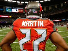 Pre-game at the Superdome (Doug Martin). Tampa Bay Buccaneers d97a6bc11