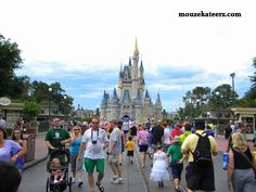 Pregnant at Disney: A Survival Guide for the Mom-To-Be (article) Cinderella Castle, Survival Guide, Disney Trips, Vacation Spots, Wonders Of The World, Vacations, Times Square, December, Street View