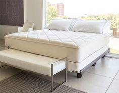 A luxury bed that I can only dream about because I know that I will never be lucky enough to win. Lord knows that I can't buy it so the only way would be to win.