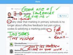 Twitter / SDupp: @kevin mclaughlin @Matthew Pearson ... assessment for tweeting ;-)