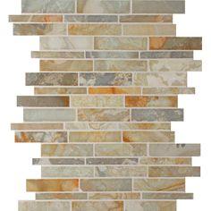United Tile - Slate Backsplash @philpzoo