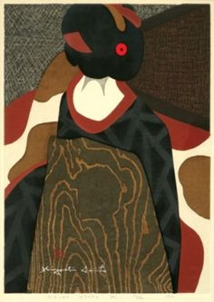 Kiyoshi Saito, woodblock print