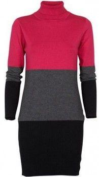 Kjole cotton <3  Trendy, komfortabel & pen høy-halset kjole med lekre farger. Kjolen er av mykt bomulls-materiale med stretch.