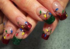 Christmas DIY Nail Art Design Tutorials | NAIL PIXIIE http://nail.pixiie.net/2013/11/christmas-diy-nail-art-design-tutorials.html
