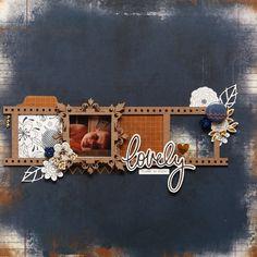 Accent Scrapbooking: Lovely (moodboard) par Elisabeth