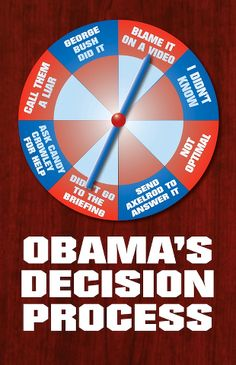 How Obama's White House deals with everything...