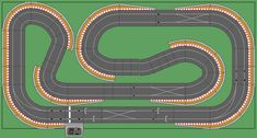 One of the biggest problems with Scalextric is literally how big it is! It's a scale model which means that to have a decent length and interesting track you need a fair amount of space to put. Ho Slot Cars, Slot Car Racing, Slot Car Tracks, Rc Car Track, Dirt Bike Track, Scalextric Digital, Scalextric Track, Rc Off Road, Rc Hobbies