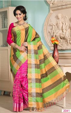 c35 Other Women's Clothing Green Indian Bollywood Floral Print Daily Wear Pakistani Women Saree Sari Clothing, Shoes & Accessories