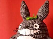 Totoro Azul Amigurumi : Amigurumi my neighbor totoro and cat bus crochet pattern set toy
