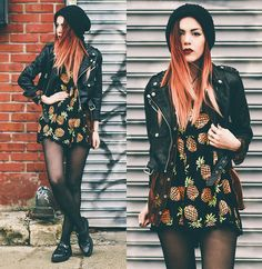 Tunnel Vision Jacket, Stelly Playsuit