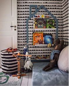 the boo and the boy: 2018 Toddler Rooms, Kids Rooms, Urban Outfitters Rug, Half Painted Walls, Ikea Bed, Shared Bedrooms, Kids Bedroom, Nursery, Room Decor