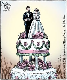 Bizarro wedding cake (Dan Piraro)