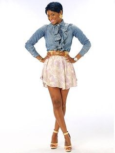 SONJIA ...Project Runway ~ I'm STILL obsessed with her shirt