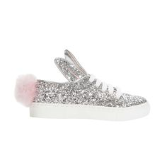Minna Parikka Mini Tail Sneaks silver glitter