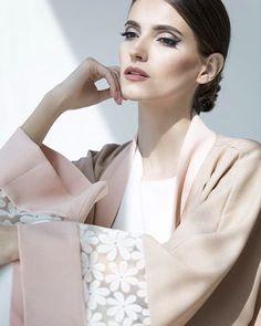 Elegant floral Abaya by Shellzy Design // Shop now at Haute Elan…