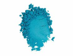 Moodstruck Eye Pigment in the color Heavenly - this is the prettiest blue