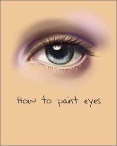 How to paint eyes by *acidlullaby Resources & Stock Images / Tutorials / Miscellaneous ©2005-2012 *acidlullaby Yup, another one, *shrug* why not? For digital painters; this was done in Painter Classic *DONE for digital, but basics are excellent for traditional painters too...*click through to download :) <3 *