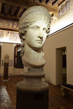 Statue of Hera, Palazzo Altemps Rome Travel, Grand Tour, Palazzo, Marble, Romans, Museums, Granite, Marbles, Palace
