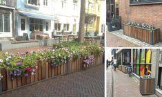 Plantenbakken in historisch centrum van Goes Shop Interiors, Coffee Shops, Urban, Plants, Culture, Flowers, Coffee Shop Business, Flora, Plant