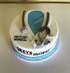 Greys Anatomy Doctor Jacket Cake — Lotz of Sweets