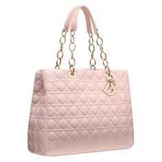 Dior Autumn- Winter 2012 Leather Goods collection: large powder pink leather 'Dior Soft' shopping bag.