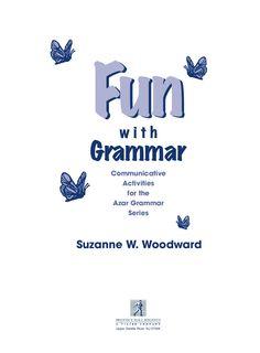 English book   fun with grammar by marishka1810 via slideshare