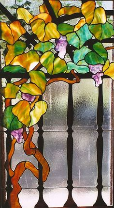 Atmospheric Glass, stained glass window by Tangerine