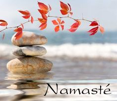 Namaste - the spirit in me salutes the spirit in you #lornajane #myactiveyear