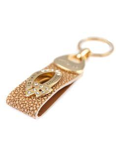 Cango & Rinaldi Prívesok na kľúče zlatý, Swarovski elements