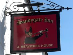 Sandygate Inn Pub Sign Kingsteignton | Flickr - Photo Sharing!