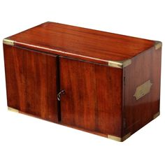 View this item and discover similar for sale at - Century English,Two Door Campaign Box With Six Drawers Folding Furniture, Furniture Decor, Decorative Wooden Boxes, Campaign Furniture, Apothecary Cabinet, Drinks Cabinet, Cabinets For Sale, Vintage Tools, Miniature Furniture