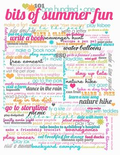 50 Summer free printables for parties, activities, subway arts & more for families and kids. Party ideas and game fun for summer with home decorative ideas Summer Kids, Summer Of Love, Summer 2014, Free Summer, Summer School, Summer Baby, Kids Fun, Summer Colors, Freetime Activities