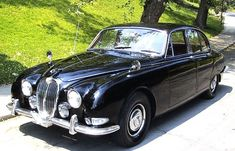 1965 Jaguar S-type The car that I learned to drive as a teenager! Ours was white with red leather interior, lots and lots of chrome and a burl dash! Gorgeous!!!